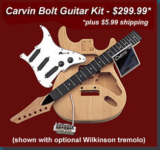 Save money on this great Carvin Bolt kit!