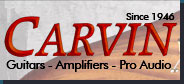 Carvin Guitars - Amplifiers - Pro Audio