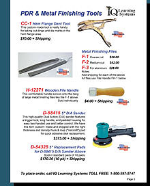 Sample Page from our New IQ Tool Catalog!